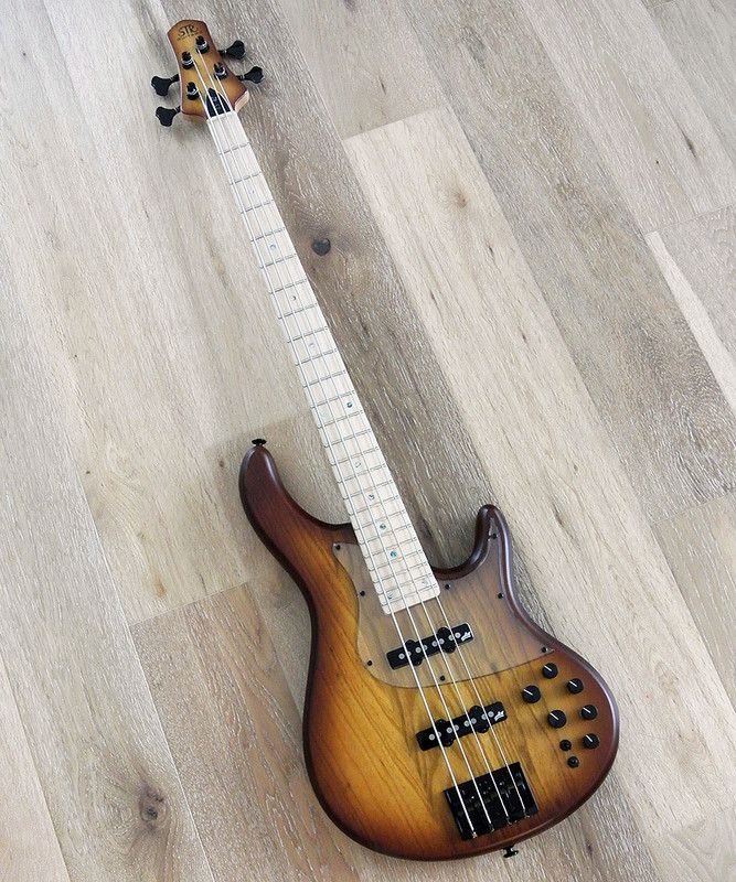 STR Sierra LS42 - 4 String Active Bass Guitar With Aguilar Pickups And Preamp
