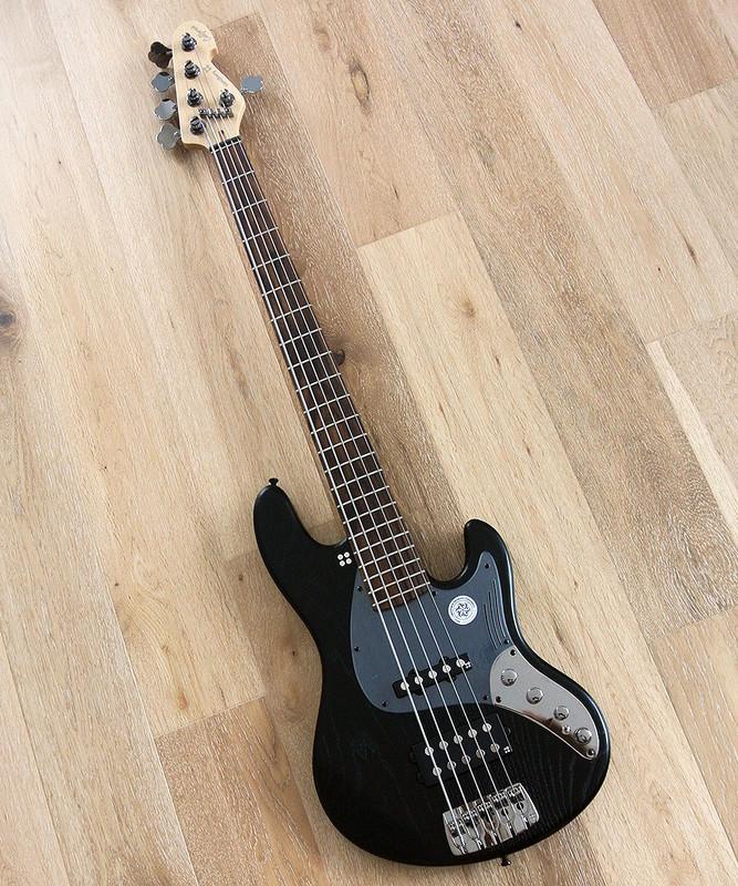 "Sandberg California II - TM 5 String - Grand Dark 35"" Scale Active Bass with Darkglass Preamp"