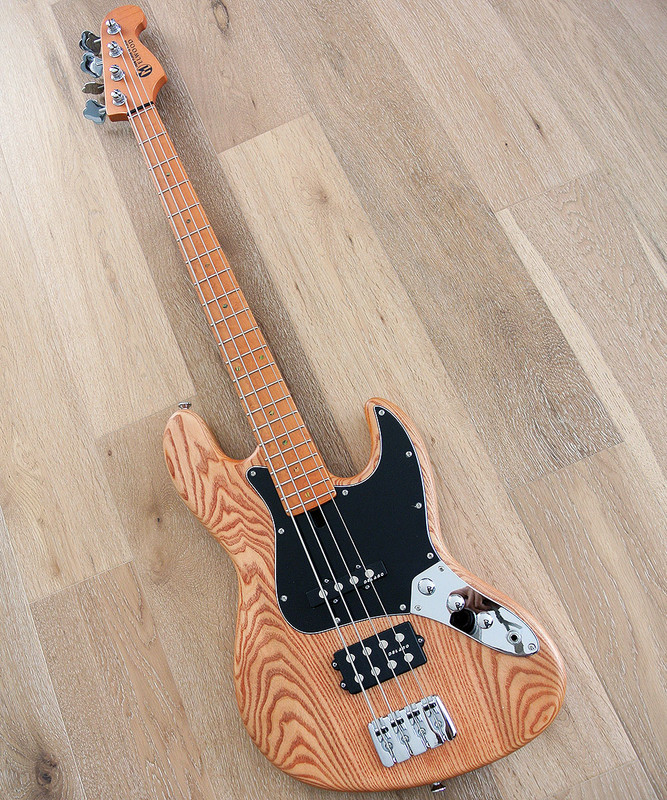 Maruszczyk Instruments - ELWOOD 4P Human Nature - 4 String Bass in Natural Finish