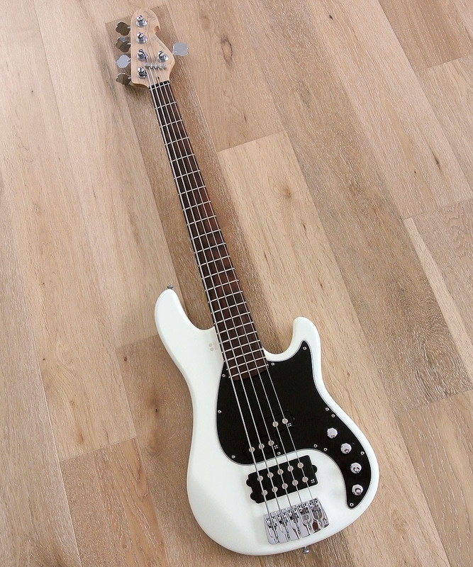 Sandberg California II - VM 5 String - Active Bass in Virgin White Finish