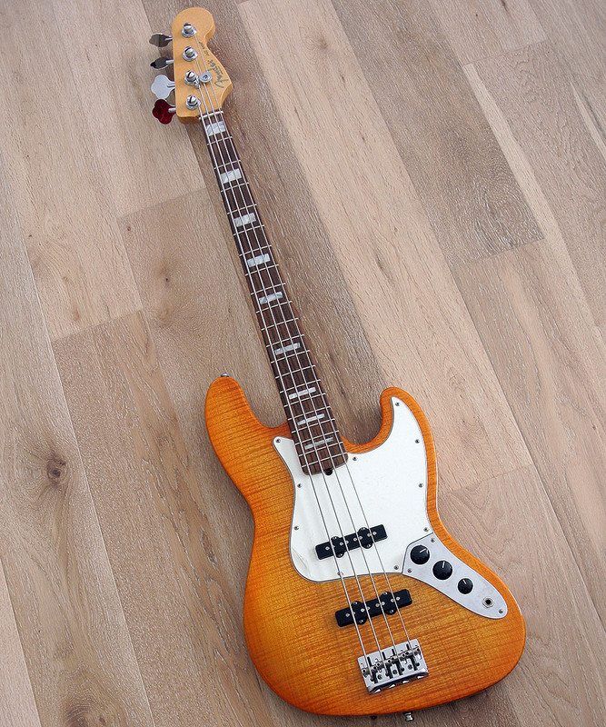 Fender American Select Jazz Bass - 2012 Excellent Condition With Hard Case
