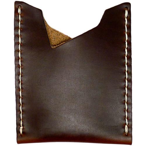 Leather Stash Wallet - Brown Chromexcel
