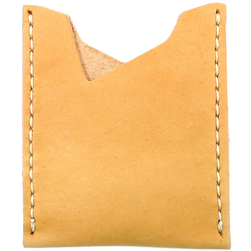 Leather Stash Wallet - Natural Essex