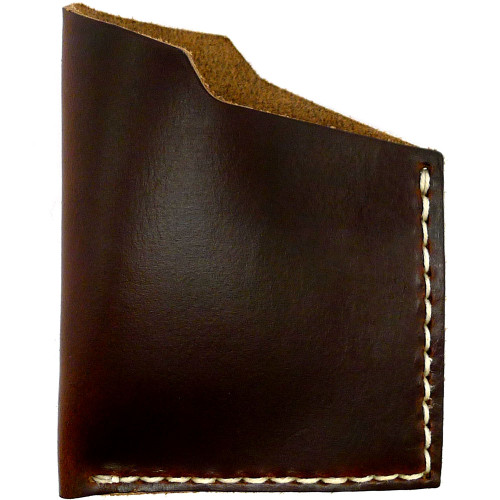Leather Angle Wallet - Brown Chromexcel