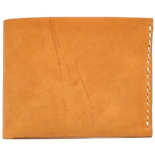 DA LUCA Handmade Bi Fold Wallet - Natural Essex
