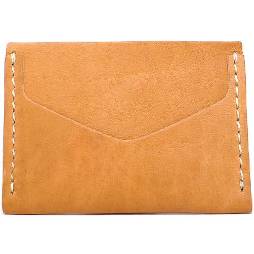 Horizontal Card Wallet - Natural Essex