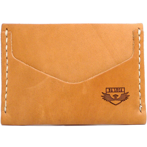Horizontal Card Wallet - Natural Essex