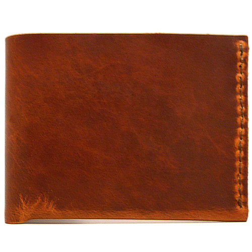 DA LUCA Handmade Bi Fold Wallet - Natural Dublin
