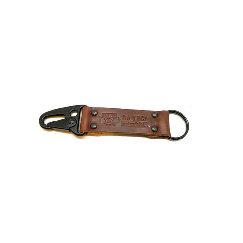 Leather V2 Key Chain - Brown Chromexcel (PVD)