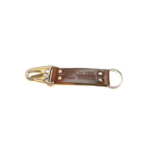 Leather V2 Key Chain - Brown Chromexcel (Polished)