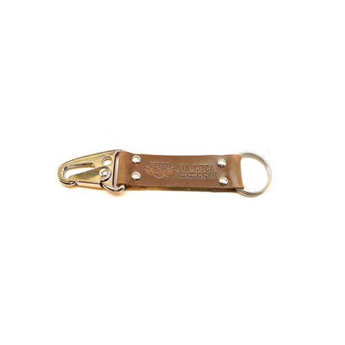 Leather V2 Key Chain - Natural Chromexcel (Polished)