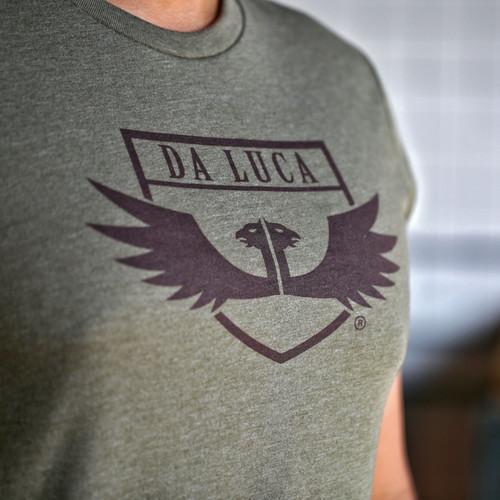 DaLuca T Shirt- Military Green