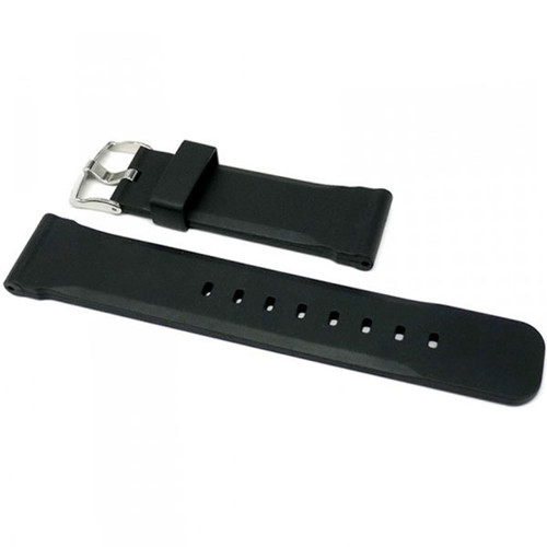 Italian NBR Rubber Dive Watch Strap - 22mm, 24mm