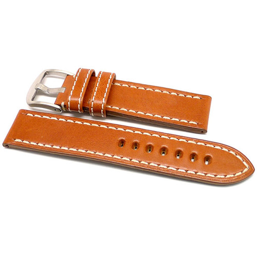 OEM Style Leather Watch Strap - Tan