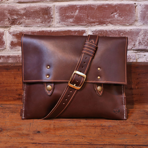 Leather Handbag - Brown Chromexcel