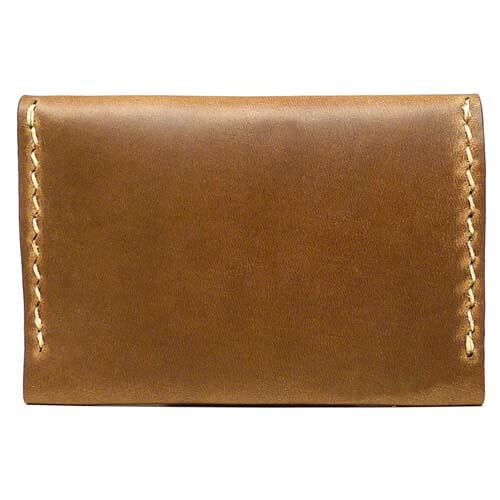 Leather Flip Wallet - Natural Chromexcel