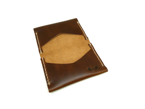Leather Flip Wallet - Brown Chromexcel
