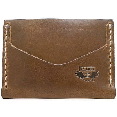 Horizontal Card Wallet - Natural Chromexcel