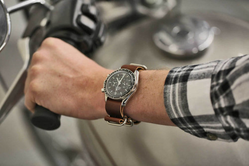 Horween Color 8 Military Strap