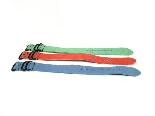 20mm Leather Strap 3x Pack - Set K