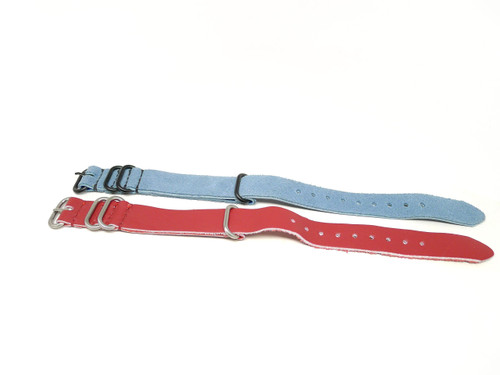 20mm Leather Strap 2x Pack - Set X