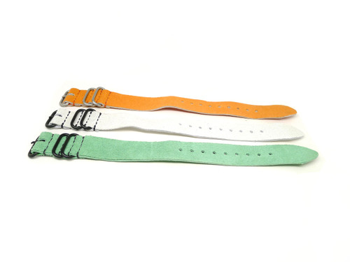 24mm Leather Strap 3x Pack - Set C
