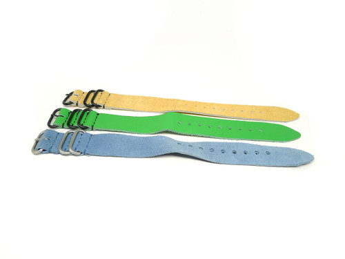 24mm Leather Strap 3x Pack - Set D