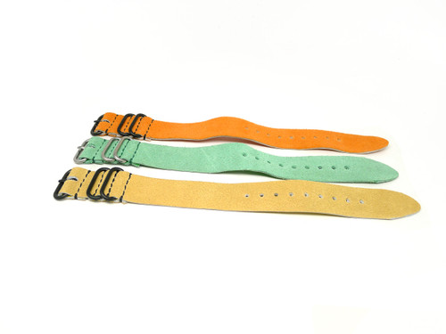 26mm Leather Strap 3x Pack - Set B