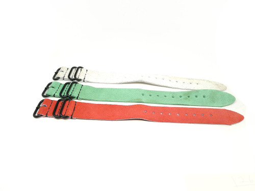 26mm Leather Strap 3x Pack - Set D