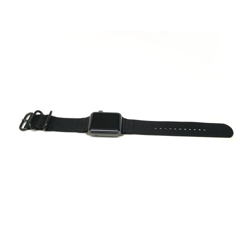 Nylon Apple Watch Strap - Black