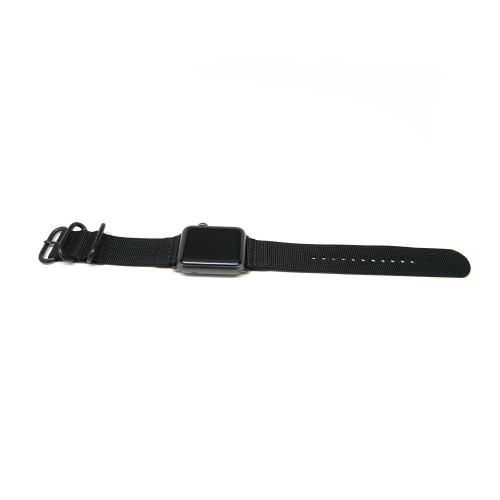 Nylon Apple Watch Strap - Black