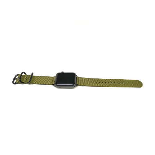 Nylon Apple Watch Strap - Olive