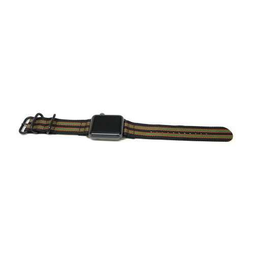 Nylon Apple Watch Strap - Goldfinger