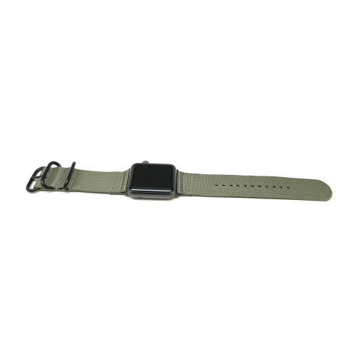 Nylon Apple Watch Strap - Grey