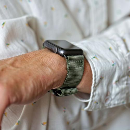 Nylon Apple Watch Strap - Grey