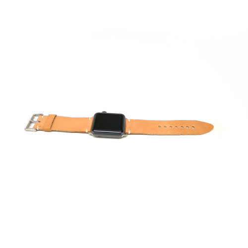 Leather Apple Watch Strap - Natural Essex