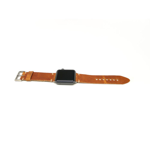 Leather Apple Watch Strap - Natural Dublin