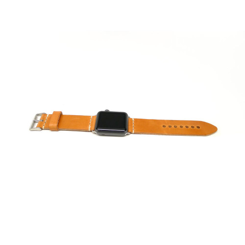Leather Apple Watch Strap - Natural (Thick)