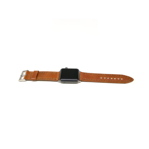 Leather Apple Watch Strap - Natural Shell Cordovan