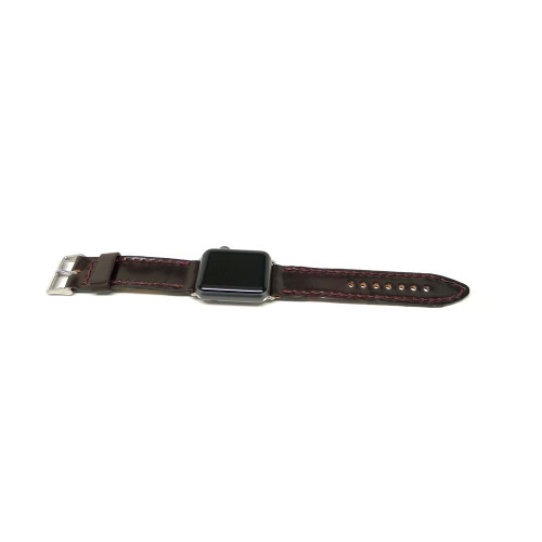 Leather Apple Watch Strap - Color 8 Shell Cordovan