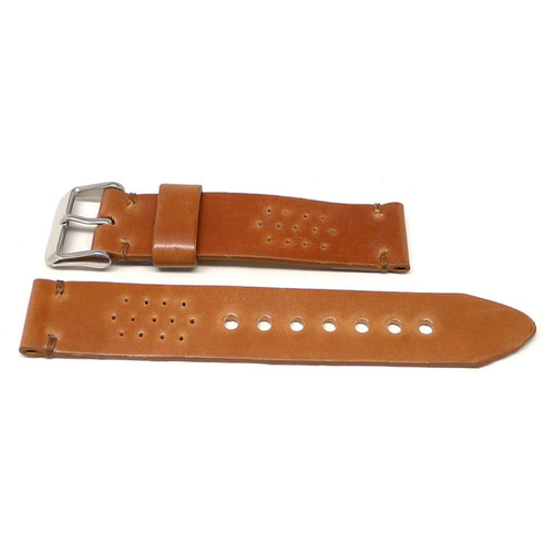 Rally Watch Strap - Natural Shell Cordovan
