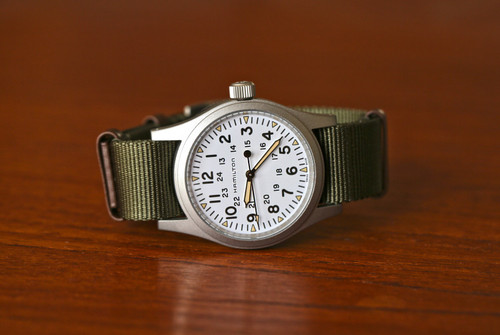 Hamilton Field Khaki Watch - White