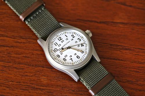 Hamilton Field Khaki Watch - White