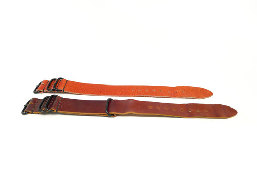 24mm Horween Shell Cordovan Strap 2x Pack Group 3 - Set A