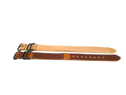 20mm Horween Leather Strap 2x Pack - Set 20-1
