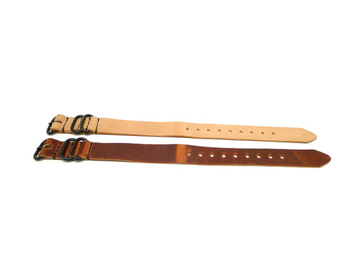 20mm Horween Leather Strap 2x Pack - Set 20-20