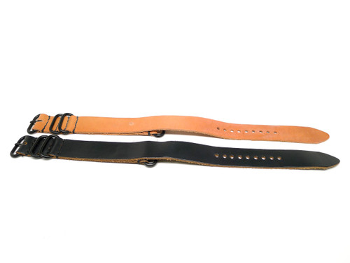 22mm Horween Leather Strap 2x Pack - Set 22-12