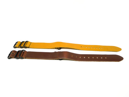 22mm Horween Leather Strap 2x Pack - Set 22-15