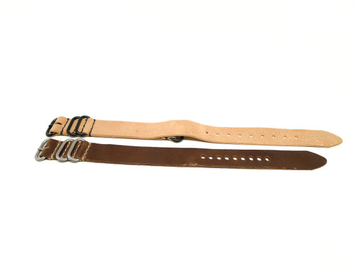 22mm Horween Leather Strap 2x Pack - Set 22-30
