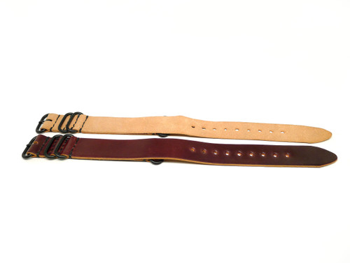 24mm Horween Shell Cordovan Strap 2x Pack - Set 24-3